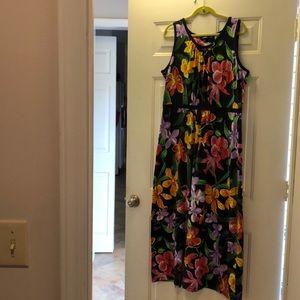 Lands' End maxi dress
